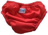 Червени бански гащички за бебе - Размер L - за деца от 10 до 15 kg -