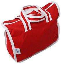 Червена чанта за пелени -