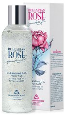 Почистващ гел за лице с розово масло - балсам