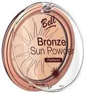 Bell Bronze Sun Powder - Бронзираща пудра за лице с пантенол - продукт