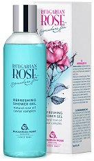 Освежаващ душ гел с розово масло - продукт