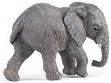 """Африканско слонче - бебе - Фигура от серията """"Диви животни"""" - количка"""