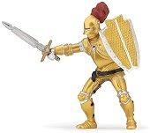 """Рицар в златна броня - Фигура от серията """"Рицари"""" -"""