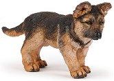 """Кученце немска овчарка - Фигура от серията """"Животните във фермата"""" -"""