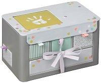 """Кутия за ценности с отпечатък и снимка - My Little Treasure - Комплект от серия """"Essentials"""" -"""