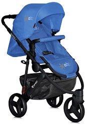 Бебешка количка 2 в 1 - Monza 3: Blue - С 3 колела - количка