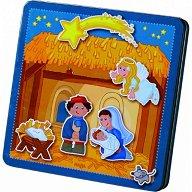 В обора на Витлеем - Детски комплект с магнити - играчка