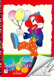 Книжка за оцветяване: Клоун с балони -