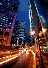 Ученическа тетрадка - Търговски център Хонг Конг - Формат A5 -