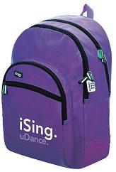 Ученическа раница - iSing Purple - фигура