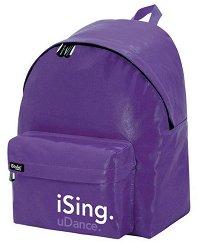 Ученическа раница - iSing Purple - раница