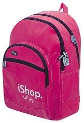 Ученическа раница - iShop Pink -