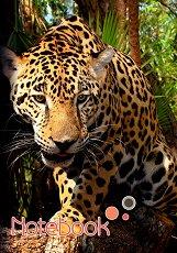 Ученическа тетрадка - Леопард - Формат A5 -