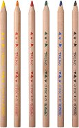 Тристенни цветни моливи - Trilino