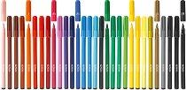 Цветни флумастери - Комплект от 6, 10, 20 или 30 цвята
