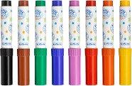 """Цветни флумастери - Комплект от 8 цвята от серия """"Pretty Pets"""""""