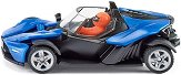 """Автомобил - KTM X-Bow GT - Метална количка от серията """"Super: Private cars"""" - играчка"""