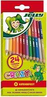 Двувърхи моливи - Crazy - Комплект от 12 броя