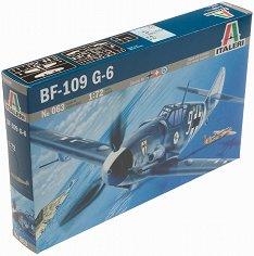 Военен самолет - Messerschmitt BF-109 G-6 - Сглобяем авиомодел - макет