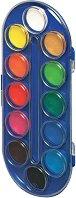 Акварелни бои - Палитра от 12 цвята
