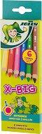 Цветни моливи - X-Big - Комплект от 6 и 12 цвята