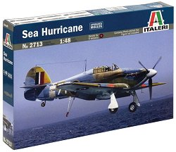 Военен самолет - Hawker Sea Hurricane - Сглобяем авиомодел -