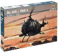 Военен хеликоптер - Bo 105 / PAH-1 - Сглобяем авиомодел - макет