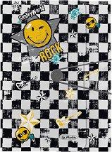 """Папка с ластик - Rock - Формат A4 от серията """"SmileyWorld"""""""