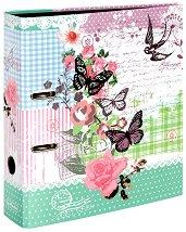 "Класьор - Butterfly - Формат A4 от серията ""Ladylike"""
