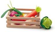 Щайга със зеленчуци - Детски дървени играчки - играчка