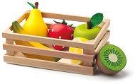 Щайга с плодове - Детски дървени играчки - играчка