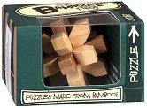 """Star - 3D бамбуков пъзел от серията """"Mini Bamboozlers"""" -"""