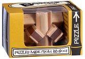 """Knot - 3D бамбуков пъзел от серията """"Mini Bamboozlers"""" -"""