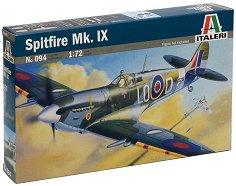Военен самолет - Spitfire Mk. IX - Сглобяем авиомодел - макет