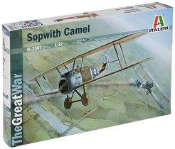 Военен самолет - Sopwith Camel - Сглобяем авиомодел -