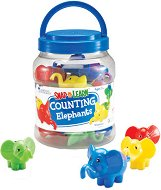 Слончета за смятане - Образователна игра - играчка