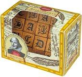 """Буквите на Шекспир - Логически дървен пъзел от серията """"Great Minds"""" -"""