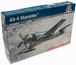 Военен самолет - AD-4 Skyraider - Сглобяем авиомодел -