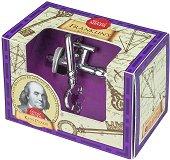 """Ключовете на Бенджамин Франклин - 3D метален пъзел от серията """"Great Minds"""" -"""