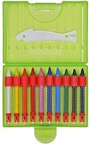 """Восъчни пастели - Комплект от 10 цвята от серия """"Mara"""""""