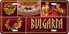 Алуминиева картичка: Bulgaria - Land of Thracians -