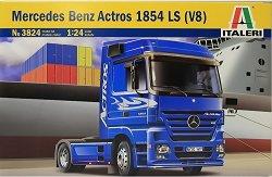 Влекач - Mercedes-Benz Actros 1854 LS (V8) - Сглобяем модел - макет