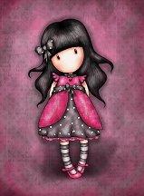 """Поздравителна картичка - Ladybird - От серията """"Gorjuss"""" -"""