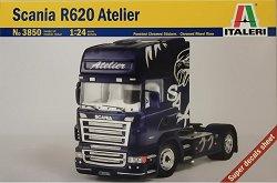 Влекач - Scania R620 Atelier - Сглобяем модел -