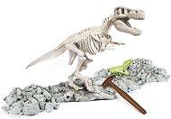 """Открий и реконструирай светещ Тиранозавър Рекс - Образователен комплект от серията """"Clementoni: Science"""" - продукт"""