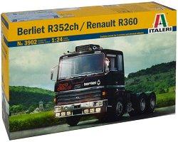 Влекач - Berliet R352ch / Renault R360 - Сглобяем модел -