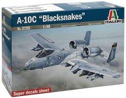 Военен самолет - A-10C Blacksnakes - Сглобяем авиомодел - макет