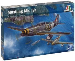 Военен самолет - Mustang Mk. IVa - Сглобяем авиомодел -