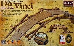 """Мостът на Леонардо да Винчи - Сглобяем модел от серията """"Da Vinci Machines"""" - макет"""