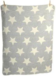 """Бебешко одеяло - Звезди - Размер 75 x 100 cm от серия """"Panda"""" - продукт"""